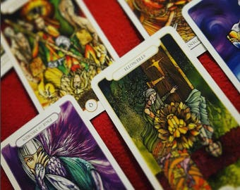 Custom Tarot Card Reading - a card reading designed to answer your specific question