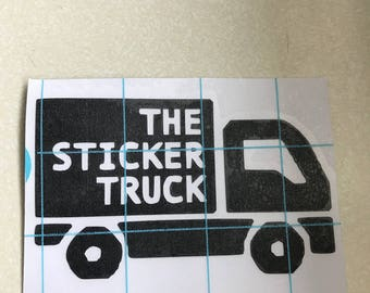 Custom Vinyl Die cut Stickers