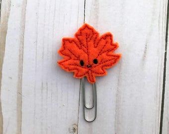 Leaf Paper Clip