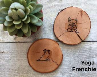 Rustic - Frenchie Collection coasters