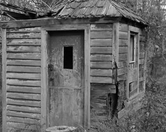 Outhouse on 1800's Farm