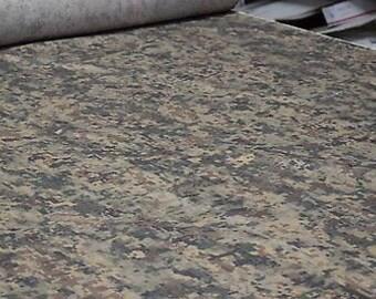 "Western Desert Digital NY/CO/Nomex Twill FR Fabric 65""W Camouflage By The Yard"