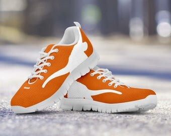Texas Longhorns Football Fan Custom Running Shoes/Sneakers/Trainers - Ladies + Mens Sizes