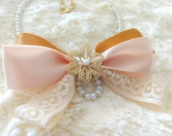 Versailles Bow necklace / bow tie