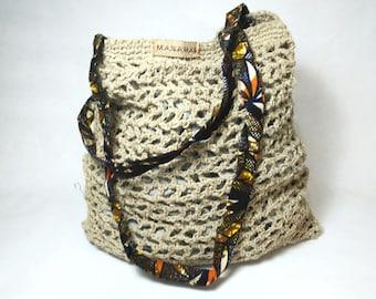 HEMP net bag. TOTE Bag