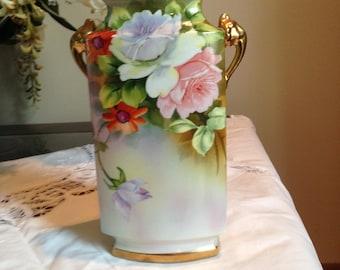 Beautiful Nippon Morimura Brothers Vase