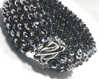 Hematite Queen's Cuff