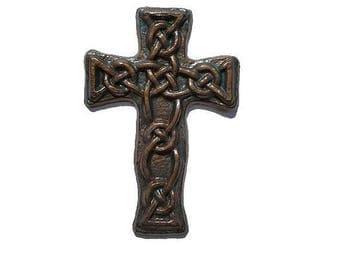 Wall Cross, Scottish, Celtic Knot, Renaissance, Ren Faire, Fair, Medieval wall art, Gothic Home Decor, Christian gift, Religious gift,