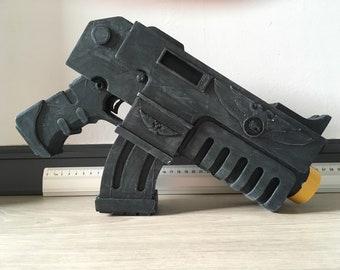 3D printed Warhammer 40K boltgun