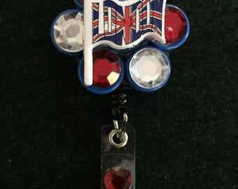 United Kingdom Flag Badge Reel