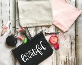 You Are Beautiful Make-up Case
