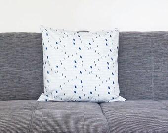 Seed cushion II blue