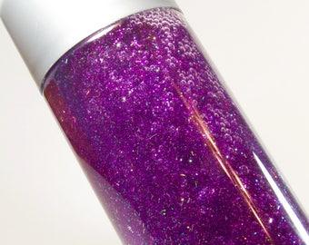 Purple Slow-Fall Calm Down Sensory Bottle - Medium