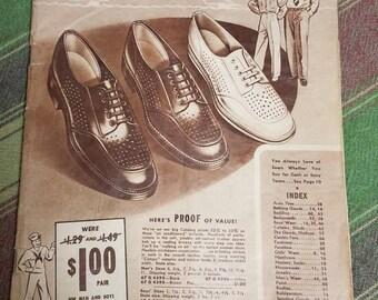 Vintage 1940s Sears Summer Catalog