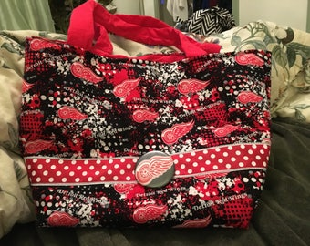 Red Wings Tote/Purse