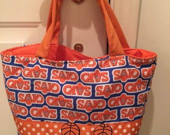 Cleveland Cavalier tote/purse