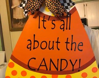 Sweet Halloween Door Hanger