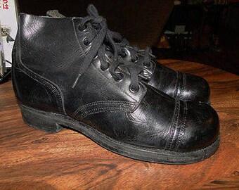 Vintage US NAVY COMBAT boots 1960 Sz. 8.5