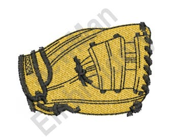 Baseball Glove - Machine Embroidery Design, Mitt