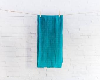 Cotton gauze blanket