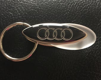 Audi keyring with gift box
