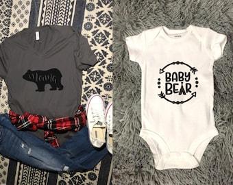 Mama Bear & Baby Bear Set!