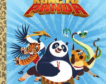 Kung Fu Panda Little Golden Book