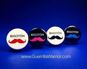 Bigoton! (1.25 inch pinback button)