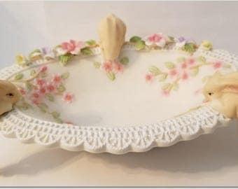 Vintage Porcelain Easter bowl