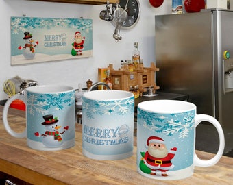 Christmas Digital Template Mug 5