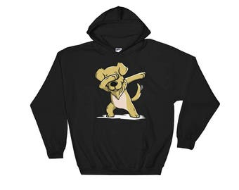 Cute Dabbing Golden Retriever Dog Hoodie Funny Dab Dance Gift