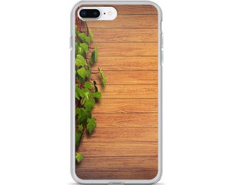 iPhone Cases, iPhone X Case, iPhone 6/6S, iPhone 7/7+ Cases ,Case iPhone 8/8+ Case, Wooden plank, Wood print