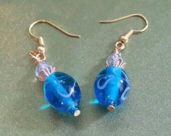 Magic Blue Earrings