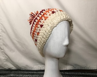 Pumpkin Spice Crochet Hat