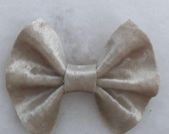 Easter velvet baby bows or headbands