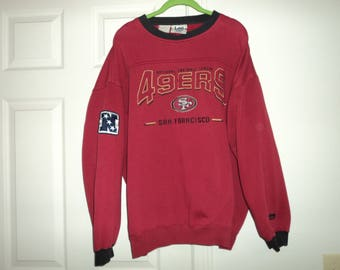 Vintage 90s Nutmeg San Francisco 49ers Sweatshirt 2XL