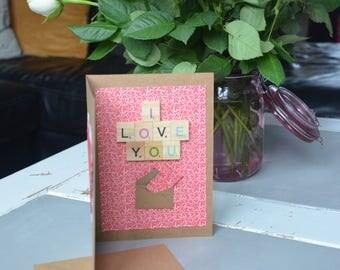 Proposal Valentine's card