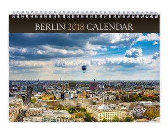 Berlin 2018 Wall Calendar