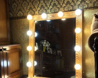 Hollywood mirror, Vanity Hollywood Mirror with lights, Glamor Mirror with lights