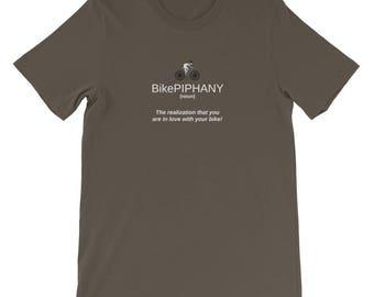 BikePiPhany I Love My Bike T Shirt