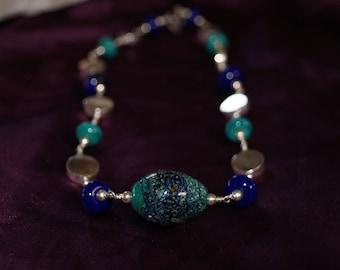 Vintage Trade Bead Necklace