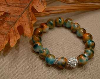 bead stretch bracelet