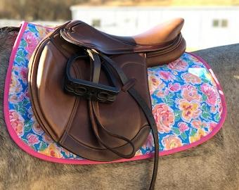 All purpose English saddle pad