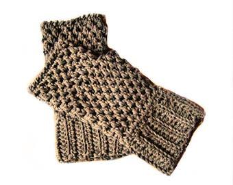 Crochet mittens - Fingerless mittens - Crochet gloves - Wrist warmer - Fingerless gloves - Crochet gloves - Handmade gloves - Hand warmer