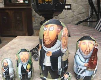 Matreshka Jewish Matryoshka Jewish doll