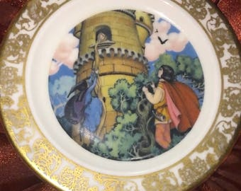 Mini Plate Rapunzel  The best loved fairytales