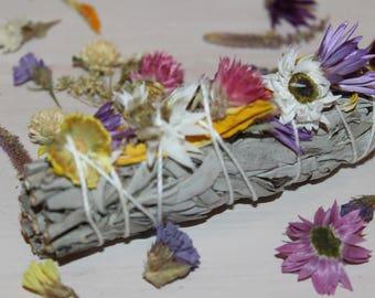 Wildflower Smudge Stick