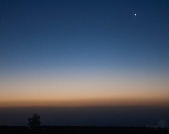 Planets Venus, Mars and Mercury