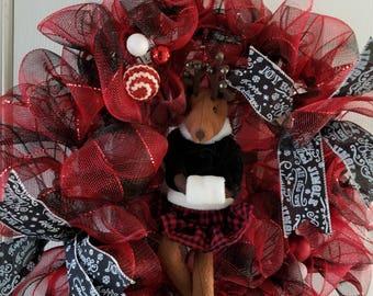 Ms. Reindeer Wreath