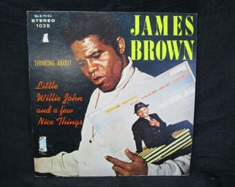 James Brown / Thinking About Little Willie John / Vinyl LP / King / 1038
